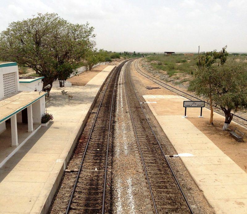 ریل گاڑی اور چھوٹی سی دنیا