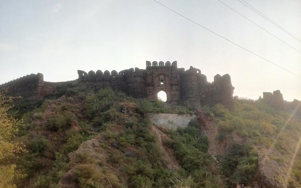 Outside Gates of Rohtas